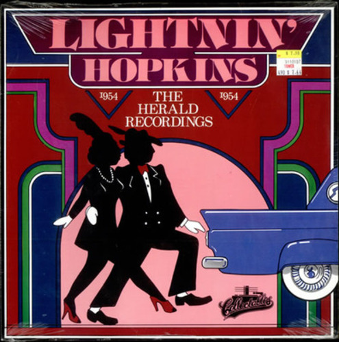 Cover for Lightnin Hopkins The Herald Recordings