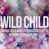 Cover for Wild Child (feat. JJ) - Single