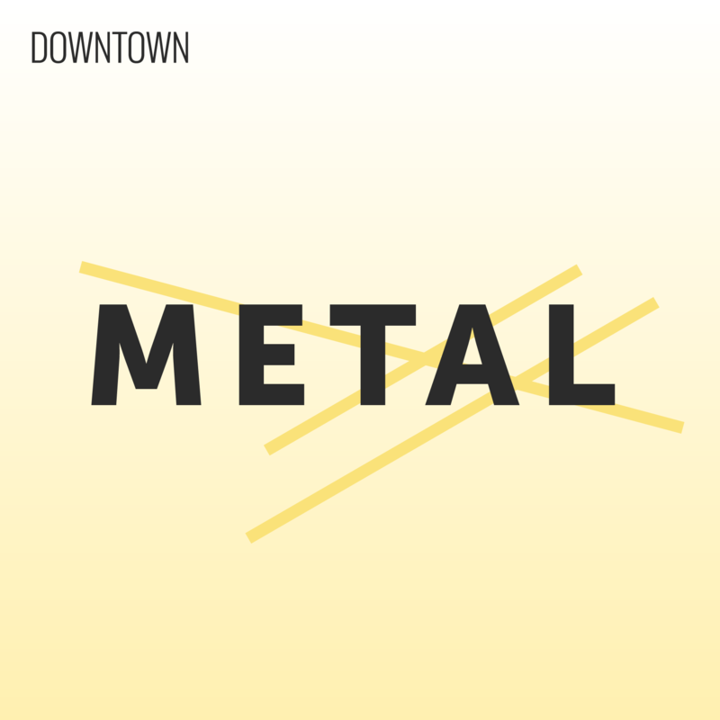 Downtown Metal cover