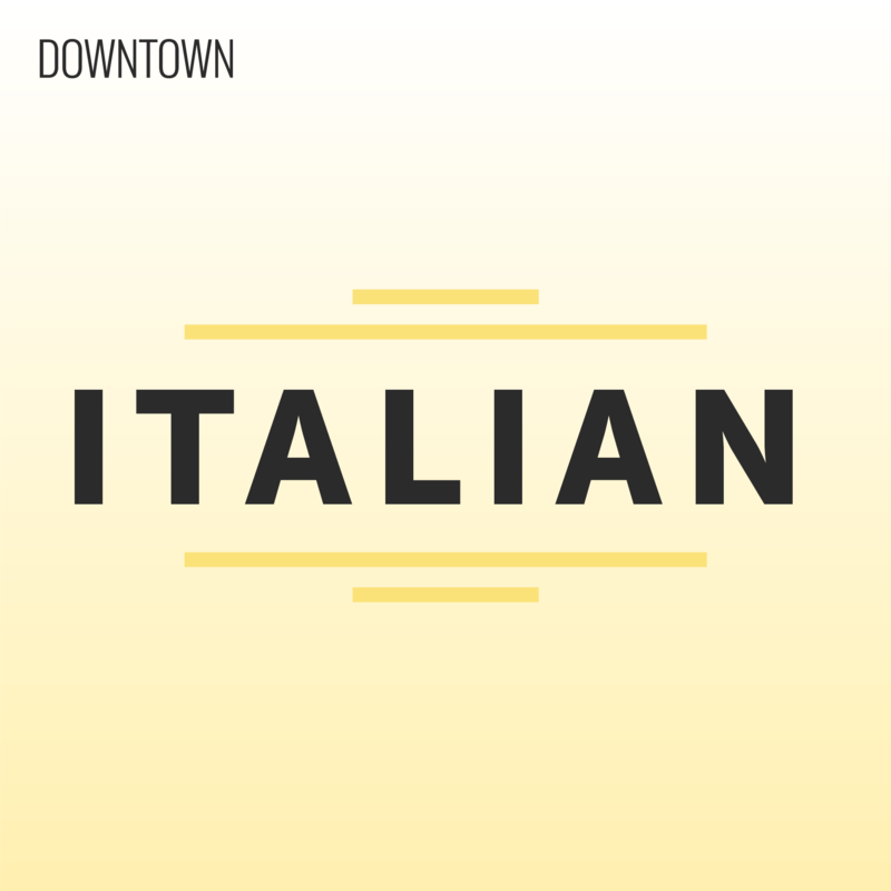 Downtown Italian cover